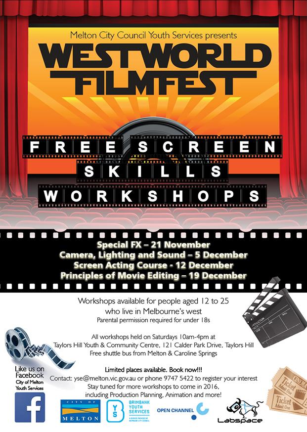 Film Skills Workshops 2015