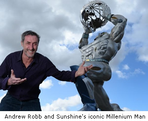 Andrew Robb and Millenium Man